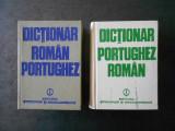 PAVEL MOCANU - DICTIONAR ROMAN-PORTUGHEZ / PORTUGHEZ-ROMAN 2 volume, cartonate