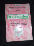 Matematica, culegere de teste , examen de capacitate