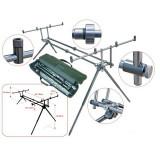 Rod Pod 4 lansete aluminiu Baracuda RP 3