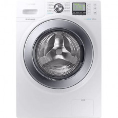 Masina de spalat rufe Samsung WW12R641U0M/LE, 12 kg, 1400 RPM, Eco Bubble, Motor Digital Inverter, Display LED, Clasa A+++, Alb
