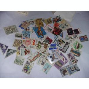 Lot 5 plicuri cu timbre vechi romanesti si straine,starea care se vede,T.GRATUIT