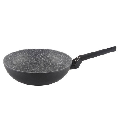 Tigaie wok granit Zilan, diametru 28 cm, adancime 9 cm foto