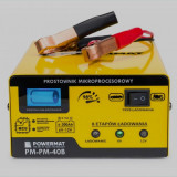 Redresor cu Microprocesor Powermat 40B Baterie 6V 12V TransportGratuit