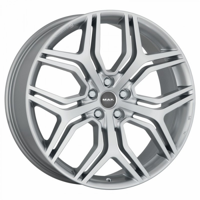 Jante INFINITI QX30 8.5J x 20 Inch 5X112 et29 - Mak Stardom Silver - pret / buc