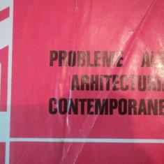 PROBLEME ALE ARHITECTURII CONTEMPORANE - MIRCEA ENESCU SI ILIE GHEORGHE