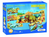 Puzzle de podea Dino, Beleduc