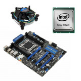 Kit placa de baza second hand MSI X79A-GD45, i7-3820, Cooler