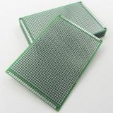 Placa test PCB 8 x 12 cm, prototip / prototype Arduino (p.293)
