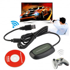 Receiver USB wireless PC / laptop pt controller / maneta Microsoft Xbox 360