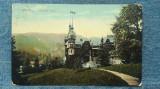 50 - Sinaia Castelul Peles / carte postala, Circulata, Fotografie
