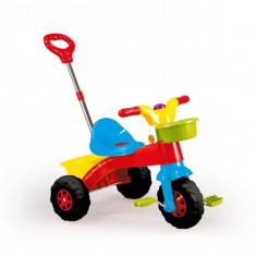 Tricicleta cu maner MyFirstTrike, 70x70x46cm-Dolu