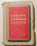 I. Peltz - Israel însângerat (ediție princeps, 1946)