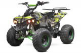ATV electric NITRO Eco Warrior 1000W 48V 20Ah cu DIFERENTIAL Verde Grafiti