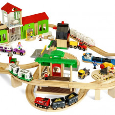 Set de tren deluxe BRIO World 33870