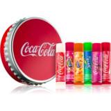 Lip Smacker Coca Cola Mix set cosmetice IV. (de buze)