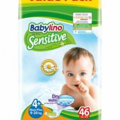 Scutece Babylino Economy 4+ Maxi Plus, 9-20 kg, 46 buc.