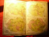 Harta Industriala a Romaniei Mari- Inst.Cartogr.Unirea Brasov 1923 ,dim.=41x30cm