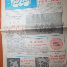 Ziarul magazin 13 decembrie 1980-art. despre rapid bucuresti de adrian paunescu