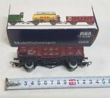Jucarie veche comunista de colectie Trenulet electric - Vagon marfa la cutie