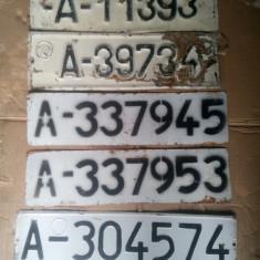 Numere plăcute vechi armata