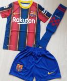 Echipamente de fotbal ptr copii de la 4 la 14 ani,MODEL NOU,BARCELONA/MESSI 2021