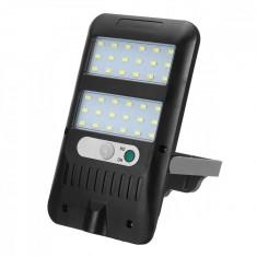 Mini Proiector cu 36 LED-uri cu panou solar senzor de miscare si senzor de lumina JX228