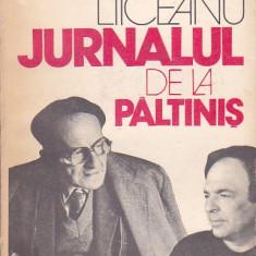 GABRIEL LIICEANU - JURNALUL DE LA PALTINIS