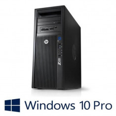 Workstation refurbished HP Z420, Intel Xeon E5-1620, Win 10 Pro