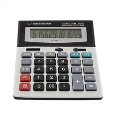 Calculator de birou electronic cu display mare 12 digiti NEWTON, Dual Power