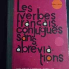 Les Verbes Francais Conjugues Sans Abreviations - George I. Ghidu ,547822