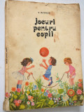 Jocuri pentru copii - V. Iacovlev 1981