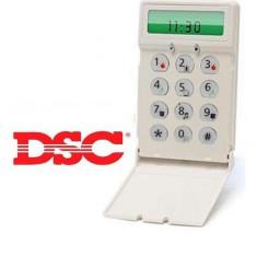 Tastatura LCD 64 zone 8 partitii canada DSC