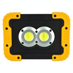 Lanterna reincarcabila LED COB 800lm. CAMPING RULOTA AUTO  AL-030320-5