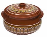 Oala ceramica, lut, 5.5l, Troeanska Sarka, 016301
