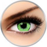 Queen's Solitaire Toric Jade - lentile de contact colorate torice verzi trimestriale - 90 purtari (1 lentila/cutie)