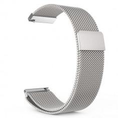 Curea otel inoxidabil Tech-Protect Milaneseband Samsung Gear S3 Classic/Frontier Silver