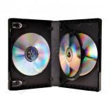 Carcasa plastic pentru 3 DVD-uri
