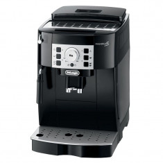 Espressor automat DeLonghi Magnifica S ECAM 22.110B, 1450 W, 15 bar, 1.8 l, 2 duze, rasnita 13 trepte, curatare automata, Negru