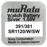 Baterie de ceas Murata 381 / 391 AG8 SR1120W 1.55V 1 Bucata /Set