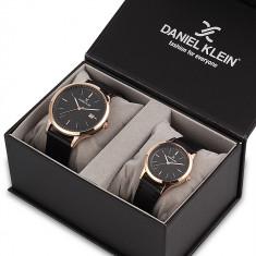 Set ceasuri pentru dama si barbati, Daniel Klein Pair, DK11787-2P