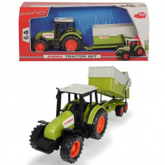 Jucarie tractor cu remorca transport furaje 3736004 Dickie