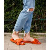 Cumpara ieftin Comfy slippers Portocaliu 37