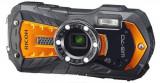 Aparat Foto Digital Pentax Ricoh WG-70, 16MP, Filmare Full HD, Zoom optic 5x, Waterproof (Portocaliu)