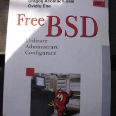 FREE BSD - DRAGOS ACOSTACHIOAIE