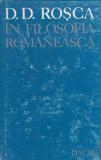 D. D. Rosca in filosofia romaneasca - Studii
