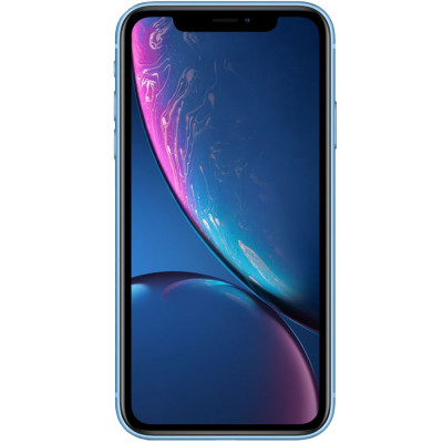 IPhone XR Dual Sim 64GB LTE 4G Albastru 3GB RAM foto
