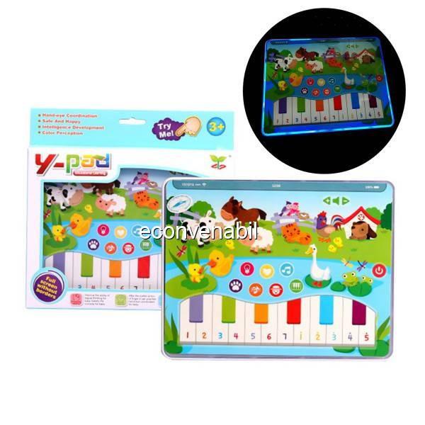Jucarie tip Tableta Educativa Iluminata pentru Copii YS2602B