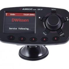 Modulator FM Albrecht DR 57, Ecran TFT 2.4inch, Bluetooth, Microfon (Negru)