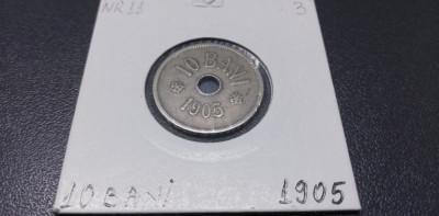 Romania 10 Bani 1905 foto