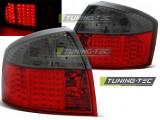 Stopuri LED compatibile cu Audi A4 10.00-10.04 Rosu Fumuriu LED